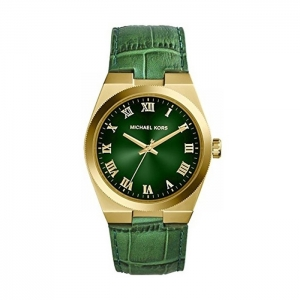 Michael Kors MK2356 Watch Strap Green Leather
