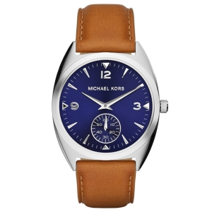 Michael Kors MK2372 Watch Strap Brown Leather