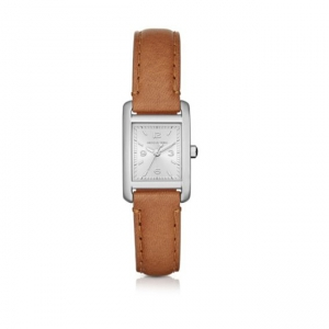 Michael Kors MK2412 Watch Strap Brown Leather
