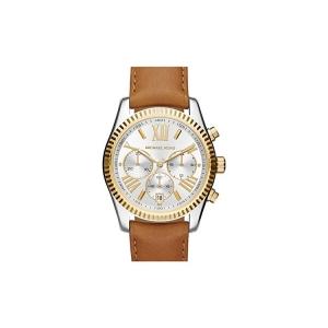 Michael Kors MK2420 Watch Strap Brown Leather