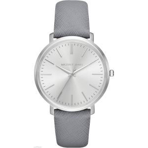 Michael Kors MK2470 Watch Strap Grey Leather