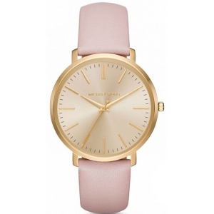 Michael Kors MK2471 Watch Strap Pink Leather