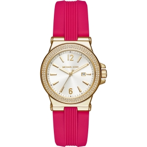 Michael Kors MK2488 Watch Strap Pink Rubber