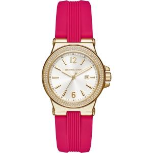 Michael Kors MK2488 Watch Strap Pink Rubber