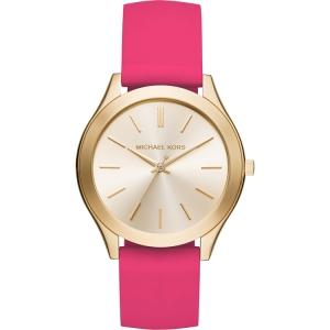 Michael Kors MK2510 Watch Strap Pink Rubber