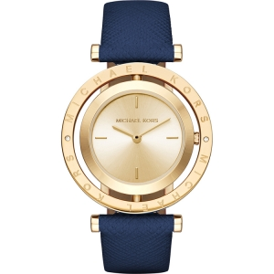 Michael Kors MK2526 Watch Strap Blue Leather