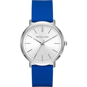 Michael Kors MK2535 Watch Strap Blue Rubber