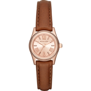 Michael Kors MK2540 Watch Strap Brown Leather