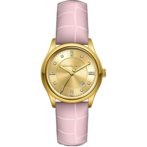 Michael Kors MK2549  Watch Strap Pink Leather