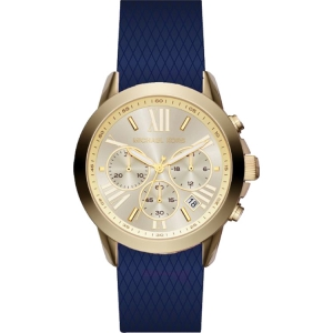 Michael Kors MK2556 Watch Strap Blue Rubber