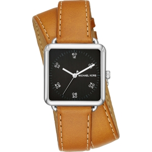 Michael Kors MK2571 Watch Strap Brown Leather