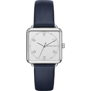 Michael Kors MK2572 Watch Strap Blue Leather