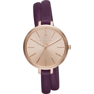 Michael Kors MK2576 Watch Strap Purple Leather