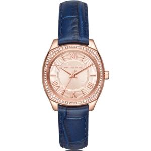 Michael Kors MK2593 Watch Strap Blue Leather