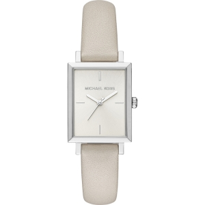 Michael Kors MK2598 Watch Strap Beige Leather