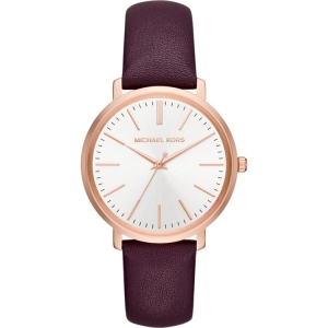 Michael Kors MK2605 Watch Strap Purple Leather