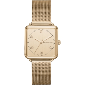 Michael Kors MK3544 Watch Strap Gold Coloured Mesh (Milanese)