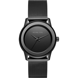 Michael Kors MK6296 Watch Strap Black Mesh (Milanese)