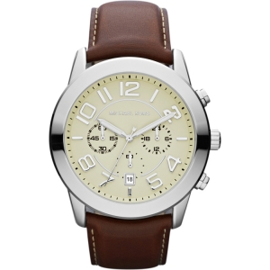 Michael Kors MK8292 Watch Strap Brown Leather
