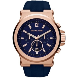 Michael Kors MK8295 Watch Strap Blue Rubber