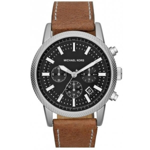 Michael Kors MK8309 Watch Strap Brown Leather
