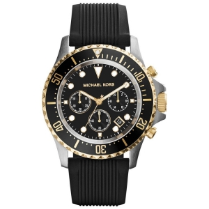 Michael Kors MK8366 Watch Strap Black Rubber