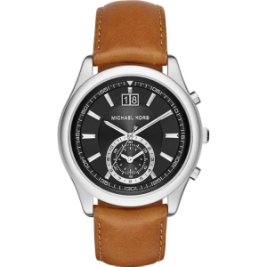 Michael Kors MK8416 Watch Strap Brown Leather