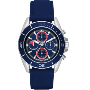 Michael Kors MK8486 Watch Strap Blue Rubber