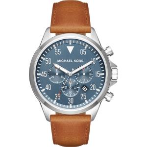 Michael Kors MK8490 Watch Strap Brown Leather
