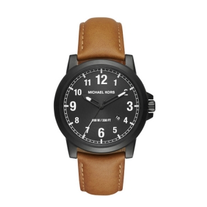 Michael Kors MK8502 Watch Strap Brown Leather