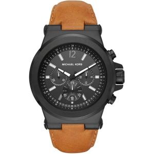 Michael Kors MK8512 Watch Strap Brown Leather
