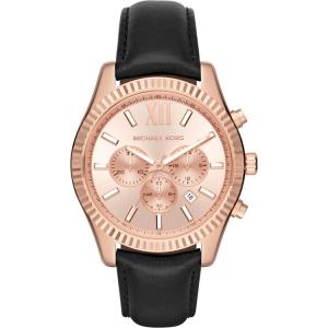 Michael Kors MK8516 Watch Strap Black Leather
