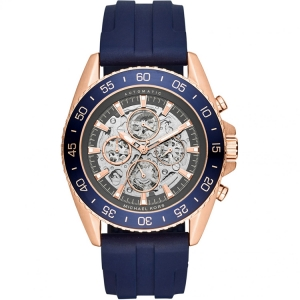 Michael Kors MK9025 Watch Strap Blue Rubber
