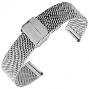 Mesh Milanaise Watch Bracelet Woven Steel