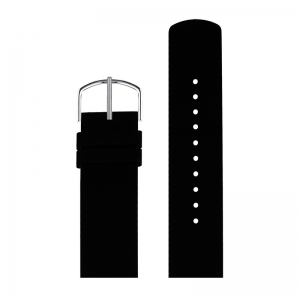Picto Watch Strap Black Rubber - 43370 - 20mm