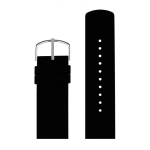Picto Watch Strap Black Rubber - 43371 - 22mm