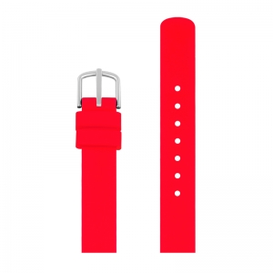 Picto Watch Strap Red Rubber - 43366 - 12mm