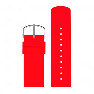 Picto Watch Strap Red Rubber - 43368 - 22mm