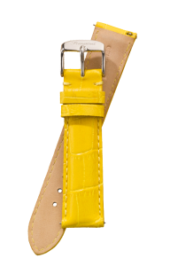 Fromanteel Alligatorgrain Watch Band Yellow