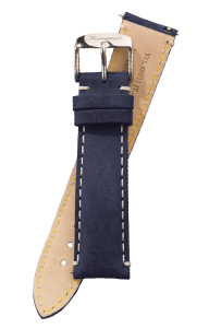 Fromanteel Vintage Leather Watch Band Blue