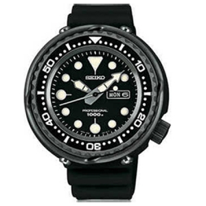 Seiko Prospex Watch Strap SBBN011J Black Rubber