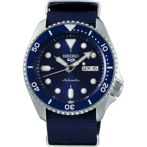 Seiko 5 Watch Strap SRPD51 Blue Nato (Nylon) 22mm