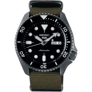 Seiko 5 Watch Strap SRPD65 Green Nato (Nylon) 22mm