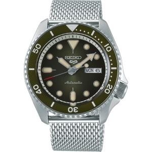 Seiko 5 Watch Strap SRPD75 Silver Mesh 22mm