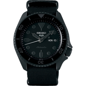 Seiko 5 Watch Strap SRPD79 Black Nato (Nylon) 22mm