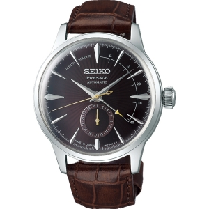 Seiko Presage Automatic Watch Strap SSA393 Brown Leather 20mm
