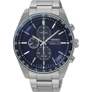 Seiko Chronograph Solar Watch Strap SSC719 Stainless Steel