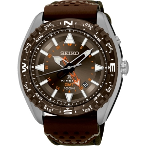 Seiko Prospex Watch Strap SUN061 Brown Leather