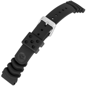Seiko Monster Watch Strap Black Rubber SKX779 SKX781 - 20mm