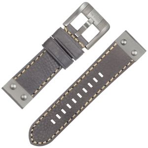 TW Steel NightRider NR1 Watch Strap Gray 24mm